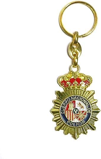 ZiNGS Llavero Policia Nacional de España: Amazon.es: Ropa y accesorios