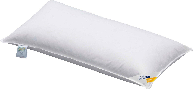 Schlafstil Schlaf Stil Feder Kopfkissen Dahliana mittel 80x80 cm