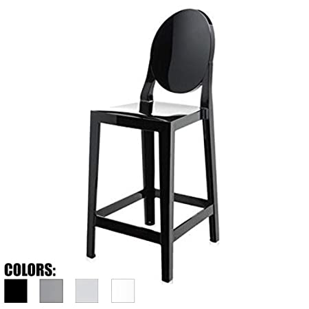 2xhome Black – 30 Seat Height Barstool Modern Bar Stool Counter Stool – Accent Stool – Lounge No Arms Armless Arm Less Stool Black