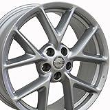 #7: 19x8 Wheel Fits Nissan, Infiniti - Nissan Maxima Style Silver Rim, Hollander 62512