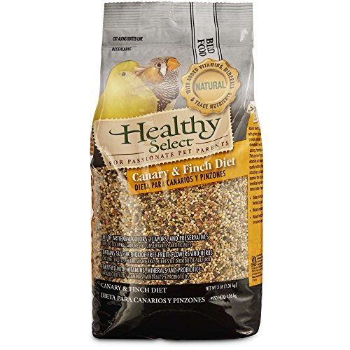 Select Diet - Healthy Select Canary & Finch Diet Bird Food, 3 lbs.