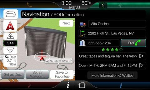 MyFord Touch GPS Navigation Upgrade Programmer for Ford C-MAX