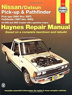 51nMjRAa96L._AC_UL320_SR244320_ nissan pick ups and pathfinder, 1989 91 (chilton's repair manual nissan repair diagrams at readyjetset.co