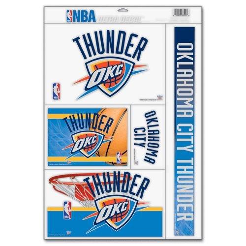 NBA Oklahoma City Thunder 07885081 Multi Use Decal, 11'' x 17'' by WinCraft