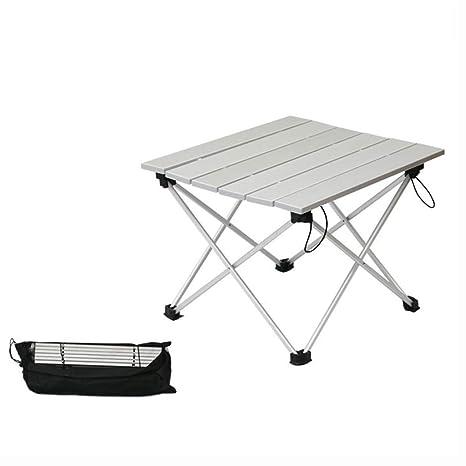 Amazon.com: Mesa plegable plegable para exteriores, portátil ...