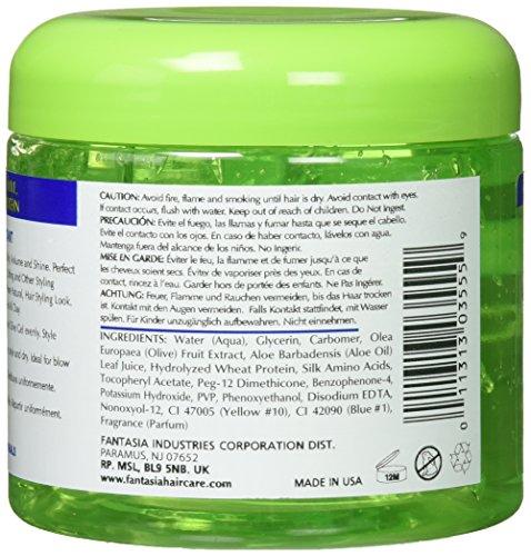 Amazon.com : Fantasia IC Olive Oil Style Gel, 16 oz : Hair Relaxer ...