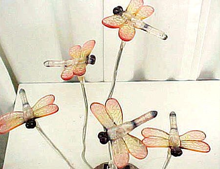 Blinking Dragonflies Solar Light
