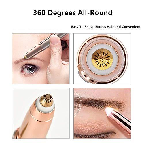 Portable Eyebrow, Face, Lips, Nose Hair Removal For Women