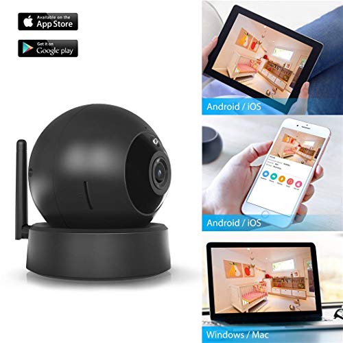 Indoor Security Camera, VICTONY Wireless 1080P Home Camera, WiFi Home Surveillance IP Camera for Baby/Elder/Pet/Nanny Monitor, Pan/Tilt, Two-Way Audio & Night Vision(E24) by VICTONY (Image #7)