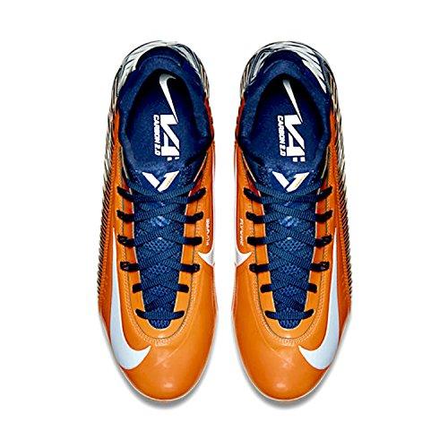Nike Vapor Carbon Elite TD Herren Fußballschuh Brilliant Orange / Weiß / Navy