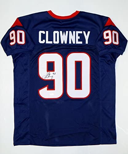 Jadeveon Clowney Signed / Autographed Red Pro Style Jersey- JSA ...