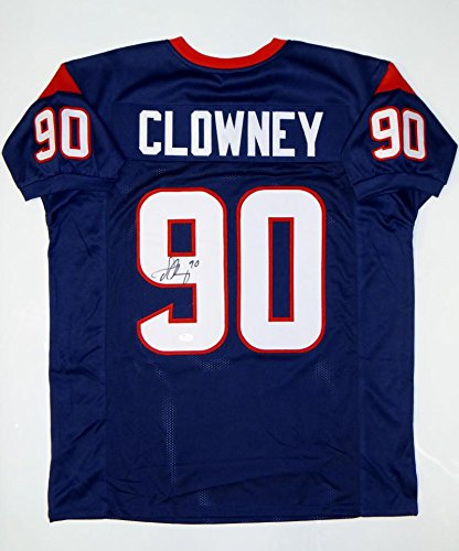 Image Unavailable. Image not available for. Color  Jadeveon Clowney Signed    Autographed Red Pro Style Jersey- JSA Authenticated 2cf20fd44