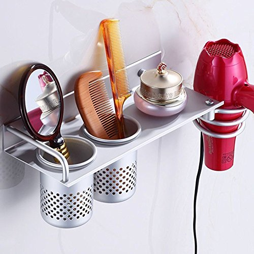 KINGSUPER Multifunctional Wall Mount Bathroom Organizer C...