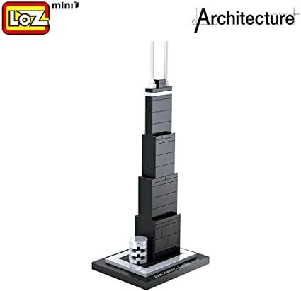 LOZ DIY Display Box for Minifigure Block LOZ Blocks Diamond Bricks Showing Case
