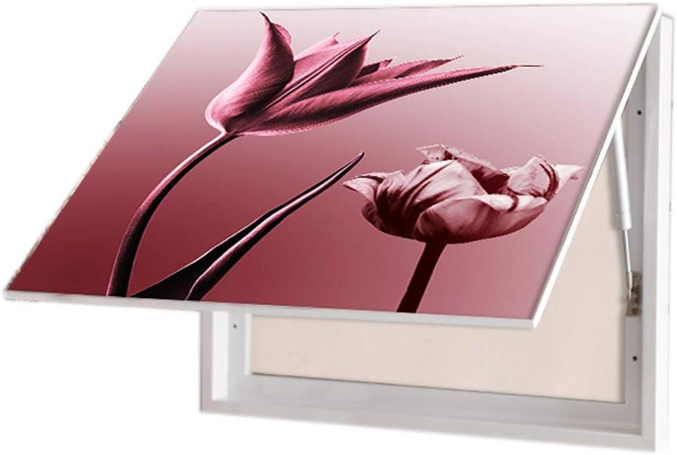 ZZKJXHJ Quadro Elettrico di Decorazione//Schermatura Meter Box Scatola di distribuzione idraulica Blocking Painting Piccola Pittura di Cristallo Fresca di Porcellana,A-30x40cm