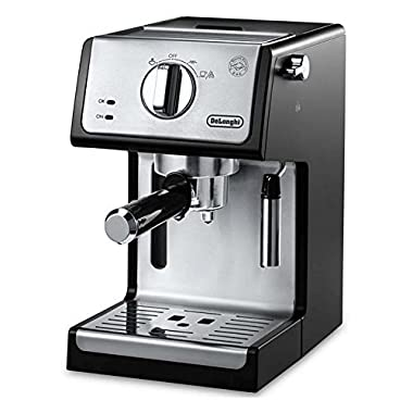 De'Longhi ECP3420 Bar Pump Espresso and Cappuccino Machine, 15 , Black