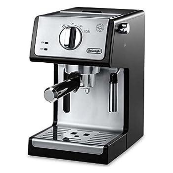 Image of DeLonghi ECP3420 Bar Pump Espresso and Cappuccino Machine, 15', Black Home and Kitchen