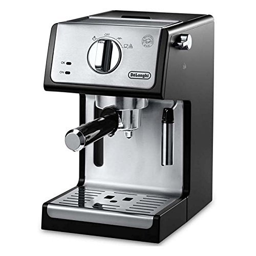 De'Longhi ECP3420 Bar Pump Espresso and Cappuccino Machine, 15″, Black
