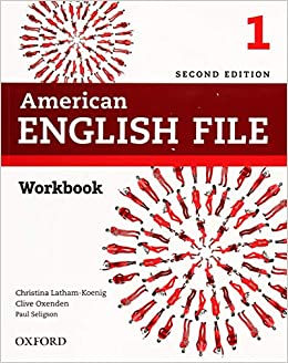 American English File 2nd Edition 1. Workbook without ...