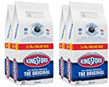 Kingsford (4 Pack) Original Charcoal Briquettes, BBQ Charcoal for Grilling - 18 Pounds Each