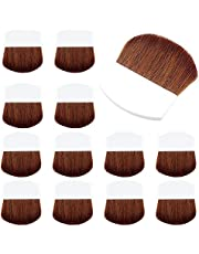 GORGECRAFT 12 Pcs Paint Brush Applicator Set Artist Multi-Functional Drawing Brush Short Hands for Gesso, Varnishes, Oil Paint, Acrylic Painting, Watercolor, Wood, Wall, Furniture-Brush Cleaner