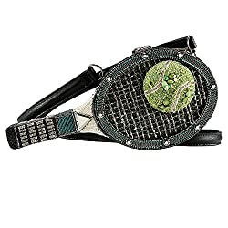Tennis Racquet & Ball Crossbody Bag