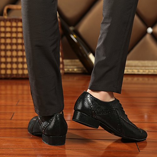 Minitoo ,  Herren Tanzschuhe Black-2.5cm Heel