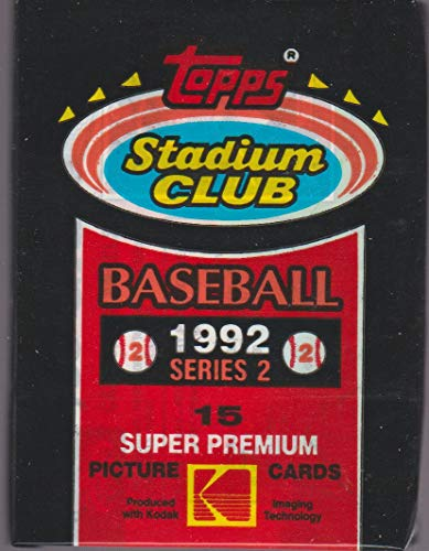 1992 Topps Stadium Club Baseball Card Pack, Series 2 ()