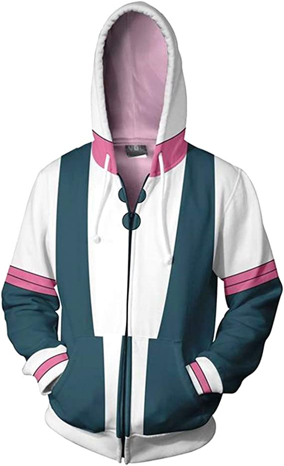 My Hero Academia Boku no Ochako Uraraka Jacket Pullover Hoodie Sweatshirt