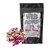Gifts Flowers Food Best Deals - Whole Dried Roses, 100% Natural Dried Rose Flower For Homemade Tea Blends, Potpourri, Bath Salts, Gifts, Crafts, Wild Flower #9 (2 ounce)