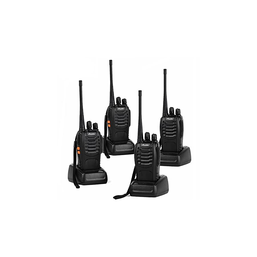 Ansoko Long Range Walkie Talkies 2/4/6/10 Pack