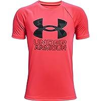 Under Armour UA Tech Hybrid PRT Fill SS Camiseta Niños