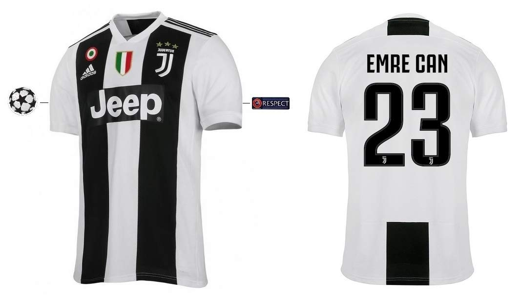 Juventus Turin Trikot Kinder 2018-2019 Home UCL - Emre Can 23