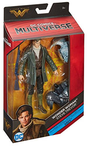 DC Comics Multiverse Wonder Woman Steve Trevor Figure