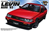 Aoshima 1/24 1983 Toyota Corolla Levin - Early AE86 Version