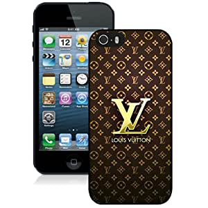 Great Quality iPhone 5 5S Case ,Beautiful And Unique Designed Case With Louis Vuitton 22 Black iPhone 5 5S Cover Phone Case