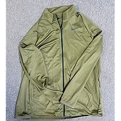 Nike Men's Epic Knit Training Jacket Olive Size XLT at  Men's Clothing store