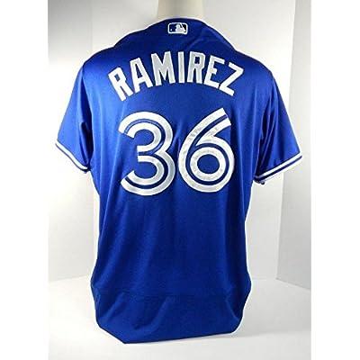 official photos 87b77 7e523 2017 Toronto Blue Jays Neil Ramirez #36 Game Issued Blue ...