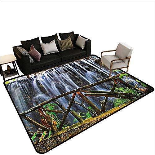 Waterfall,Floor Mat Home Decoration Supplies 60