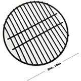 """Dracarys 18"""" Porcelain Coated Steel Wire Grill Grates Cooking Grate,Big Green Egg Accessories Grill Accessories Dome Grill Grate Grid Fit For LARGE Big Green Egg Kamado Stove And Other 18 inch Grills"""