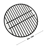 Dracarys 18'' Porcelain Coated Steel Wire Grill Grates Cooking Grate,Big Green Egg Accessories Grill Accessories Dome Grill Grate Grid Fit For LARGE Big Green Egg Kamado Stove And Other 18 inch Grills