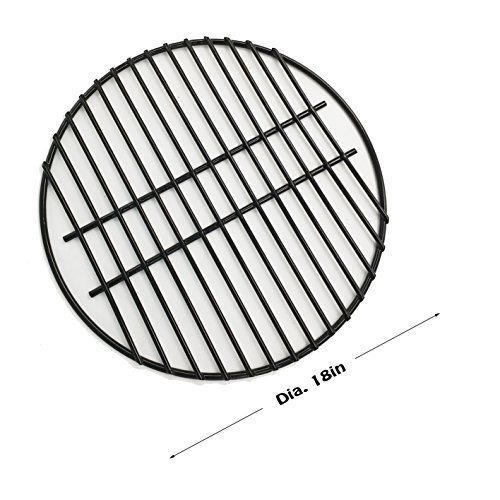 Dracarys 18'' Porcelain Coated Steel Wire Grill Grates Cooking Grate,Big Green Egg Accessories Grill Accessories Dome Grill Grate Grid Fit For LARGE Big Green Egg Kamado Stove And Other 18 inch Grills by Dracarys