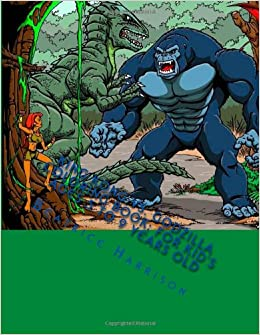 King Kong vs. Godzilla Coloring Book: For Kid\'s Ages 5 to 9 Years ...