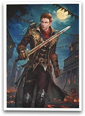 100 Matte Card Sleeves Vampire Hunter Vincent FN16S
