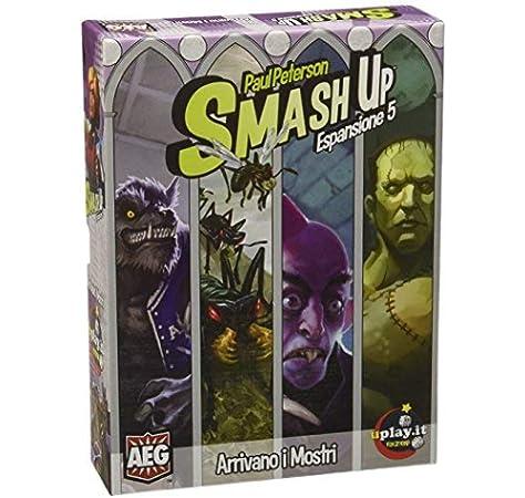 Uplay. it upl050 – Juegos Smash Up. arrivano I Monstruos (Expansión para Smash Up): Amazon.es: Juguetes y juegos
