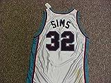 Lazarus Sims Memphis Grizzlies White Game Jersey