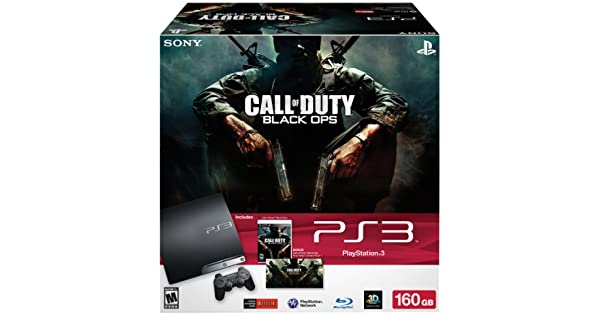 Amazon com: PlayStation 3 160GB Call of Duty: Black Ops