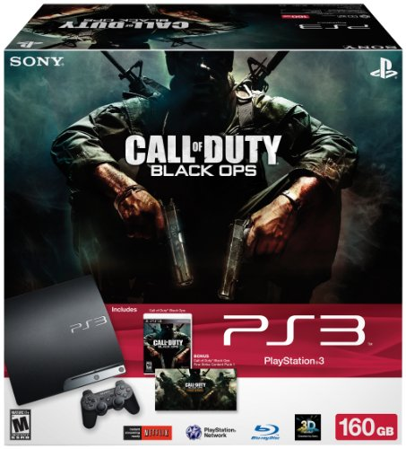 PlayStation 160GB Call Duty Bundle 3 product image
