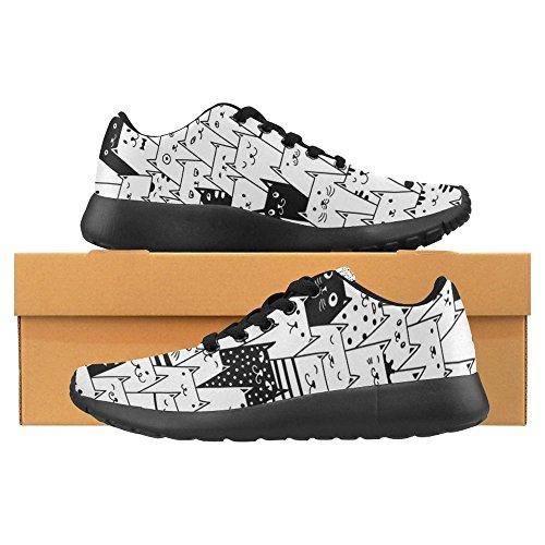 Comfort Running Go Sneaker 23 Lightweight Shoes Running Walking Womens InterestPrint Casual Multi Easy Jogging wqUEnzHxp