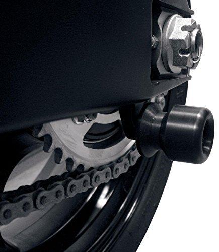 (Hotbodies Racing 51303-4300 Black Swing Arm Spool (KAW. Ninja 300R (13-16') Ultra Compact))